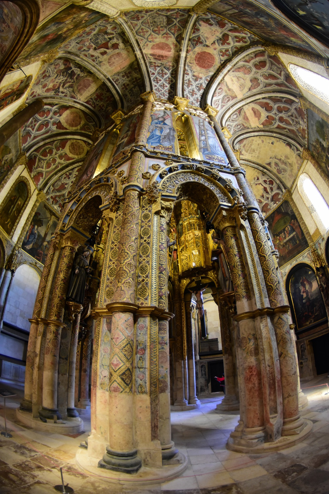 Portugal – Convento de Cristo w Tomar