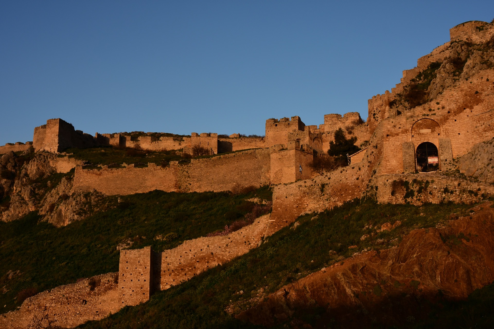 Kiato and Acrocorinth