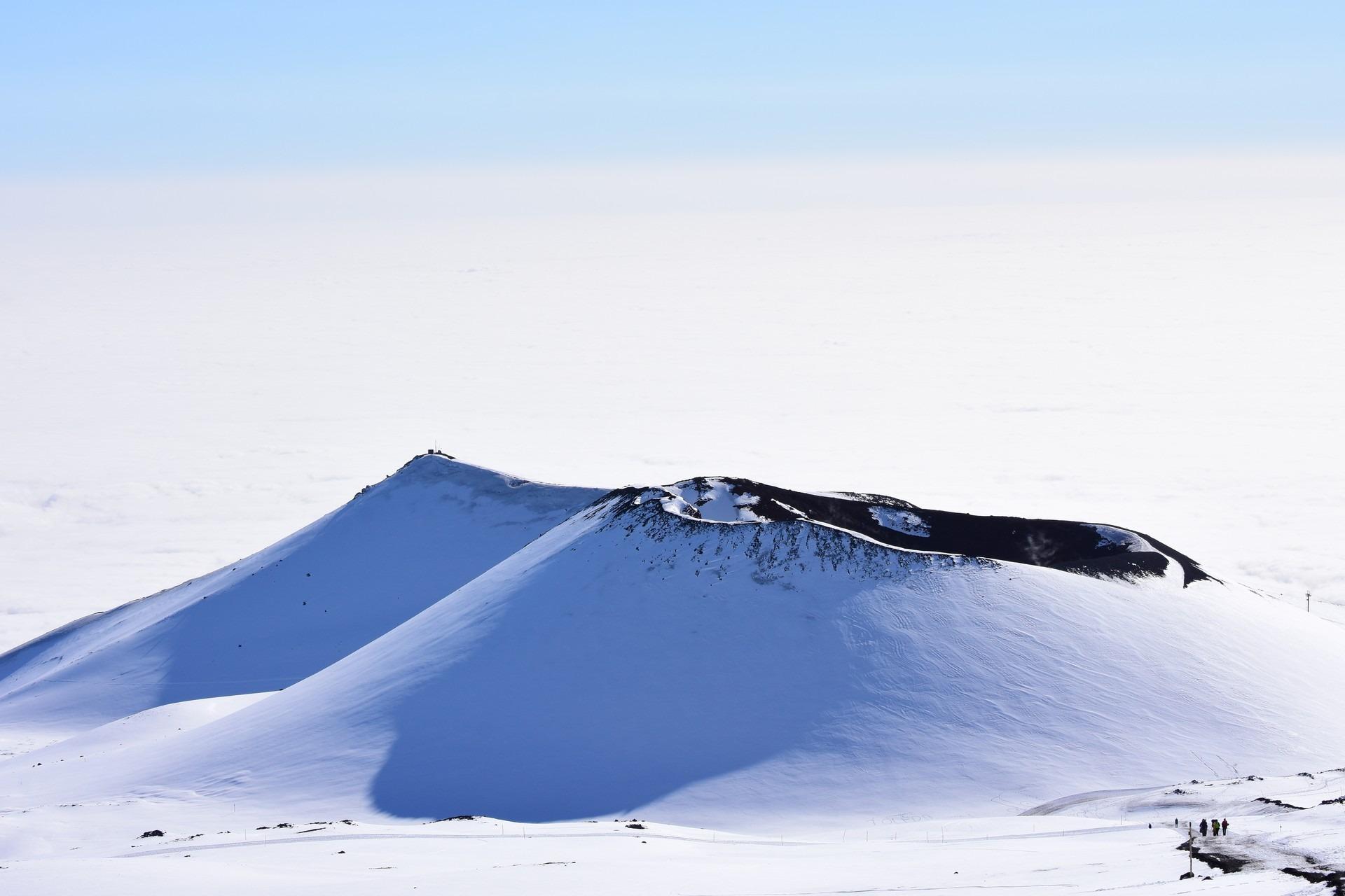 Winter on Etna