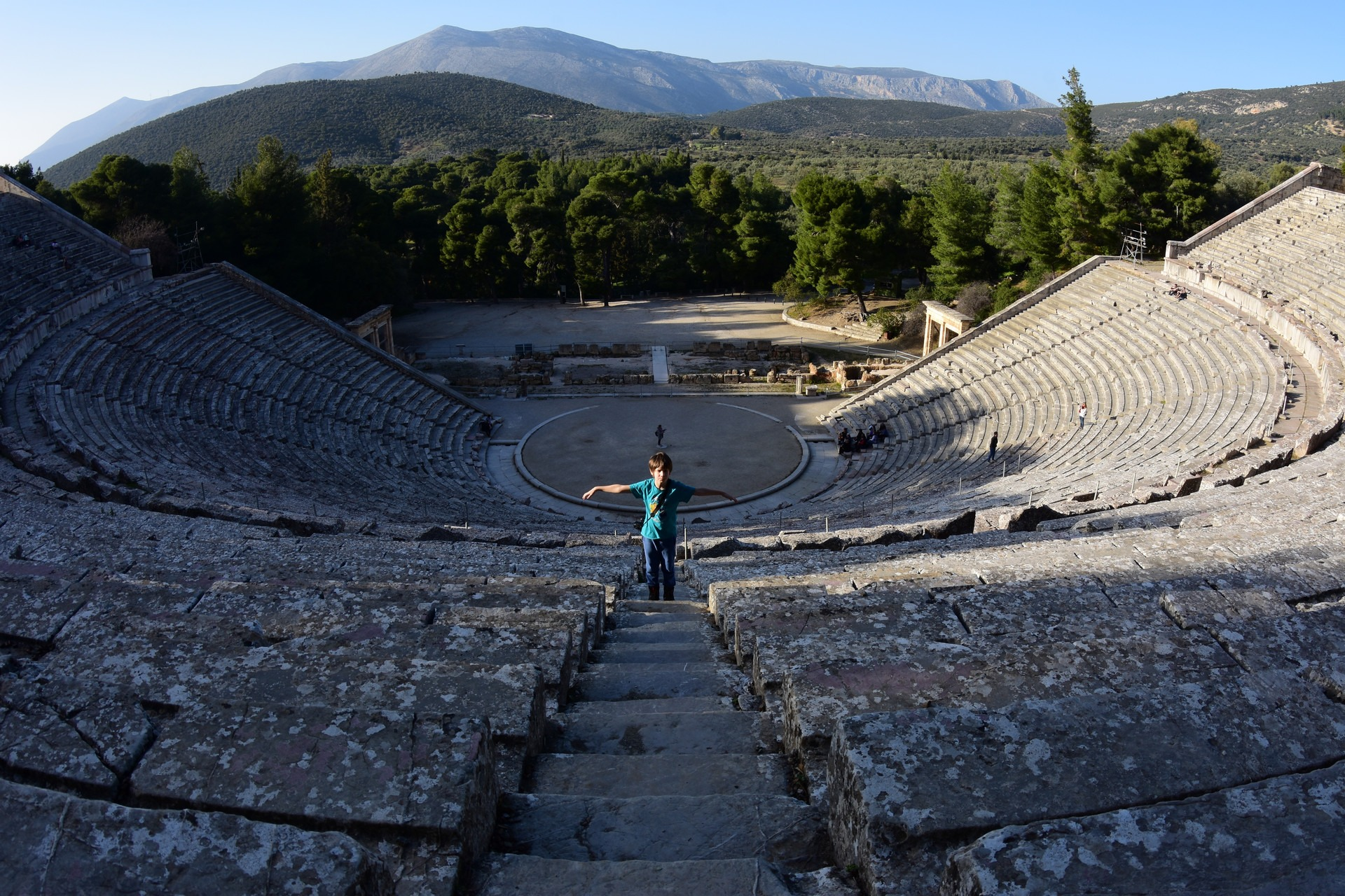 Mycenae, Tiryns and Epidauros